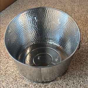 Crofton stainless steel beverage tub
